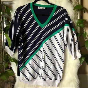 Sz L vintage knit top